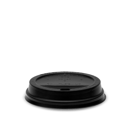 Coffee Cup Lid, Black 12 oz