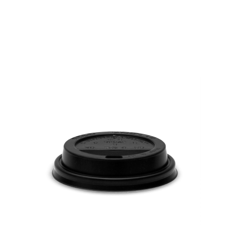 Coffee Cup Lid, Black 8 oz