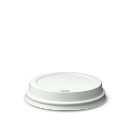 Coffee Cup Lid, White 12 oz